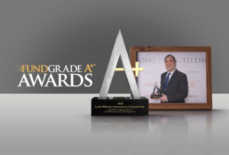 Leith Wheeler Income Advantage and Balanced Funds Receive FundGrade A+ Awards for 2018