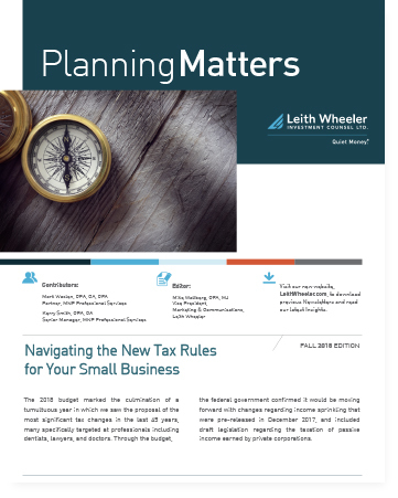 Navigating the New Tax Rules for Your Small Business